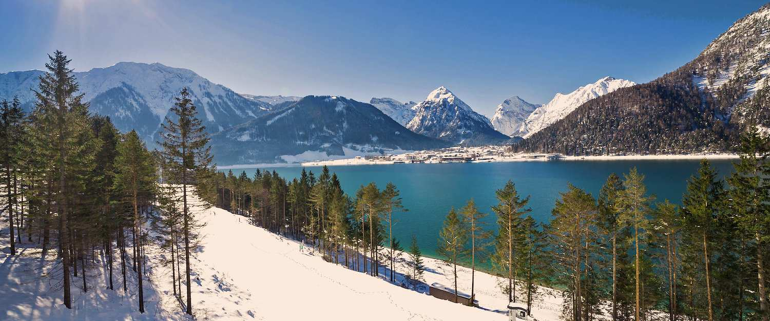 Winterlandschap in Karwendel
