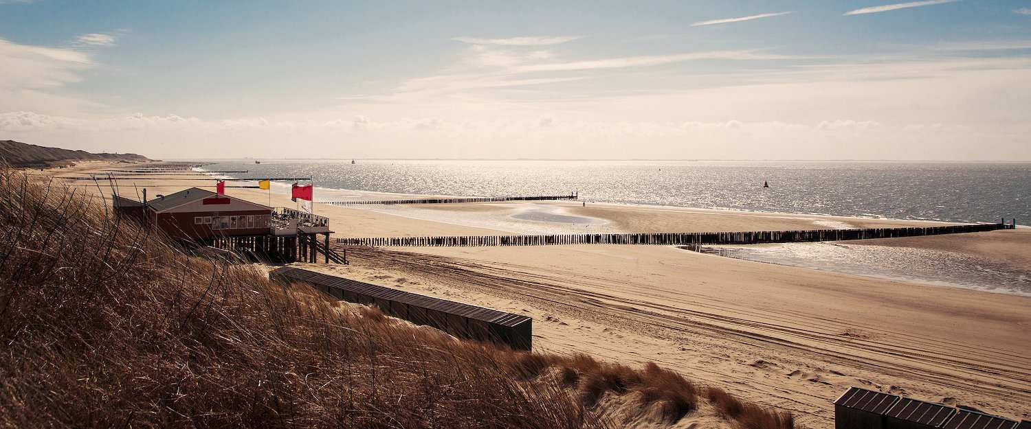 Sun, sand, sea on the Dutch North Sea coast