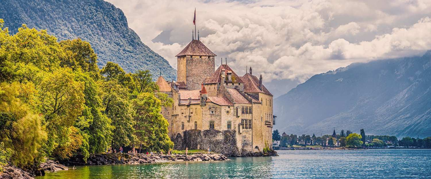 Schloss Chillon am Genfer See
