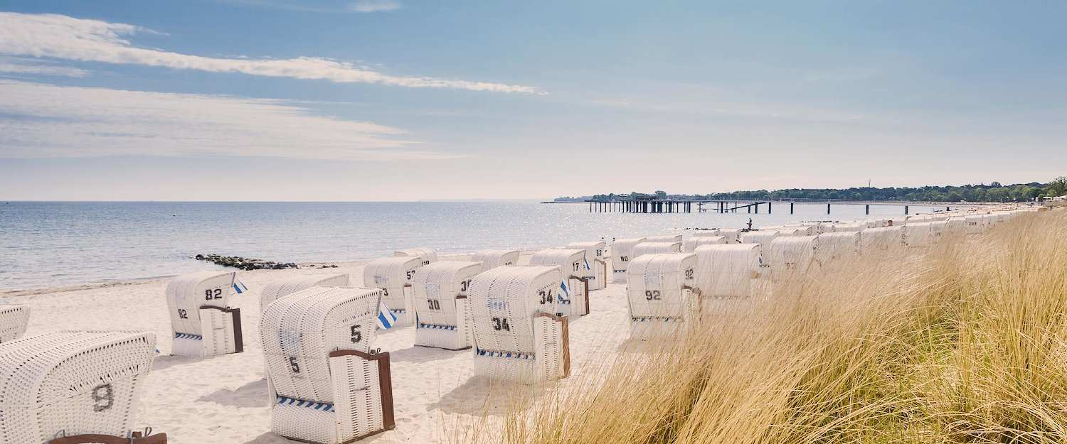 White sandy beaches in North Holland