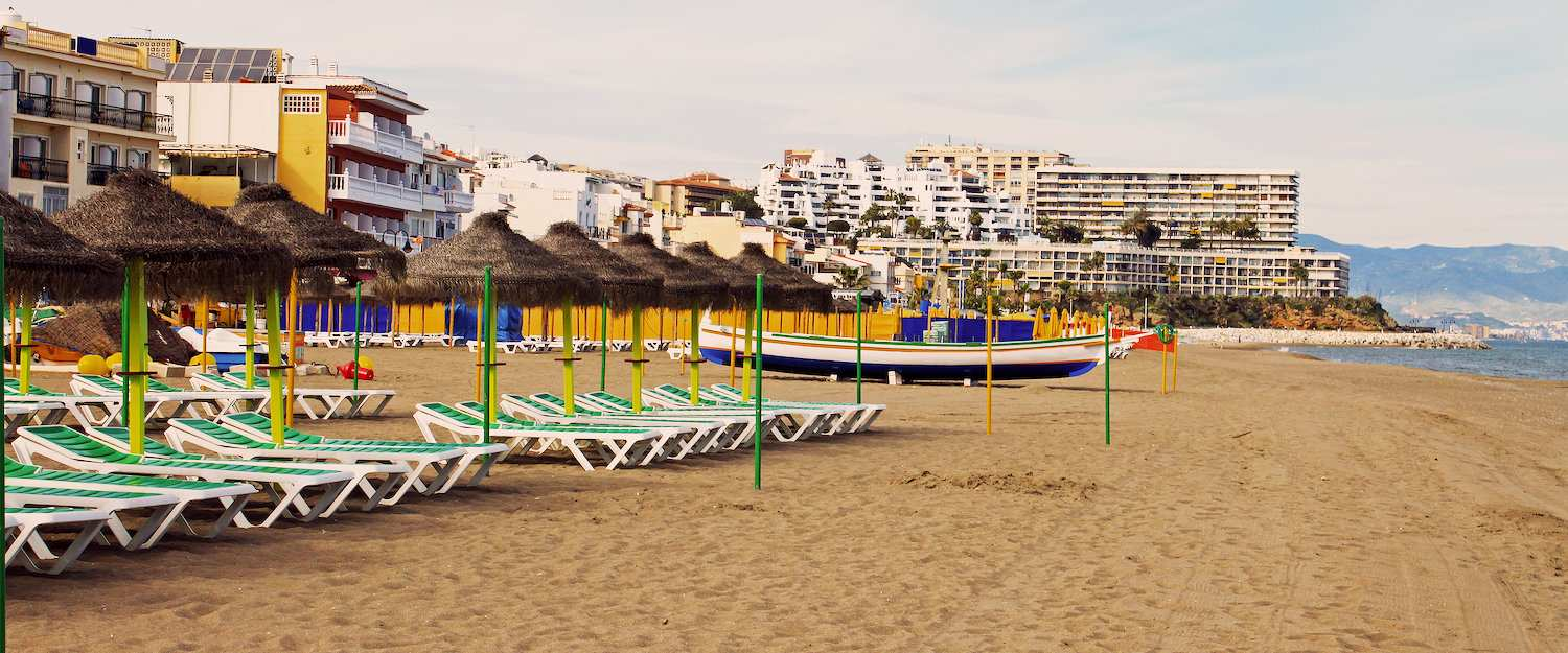 Torremolinos is located directly on the Costa del Sol.