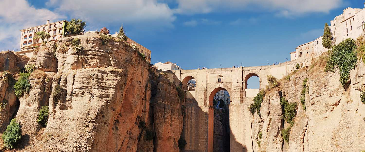 The Puente Nuevo: The landmark of Ronda.