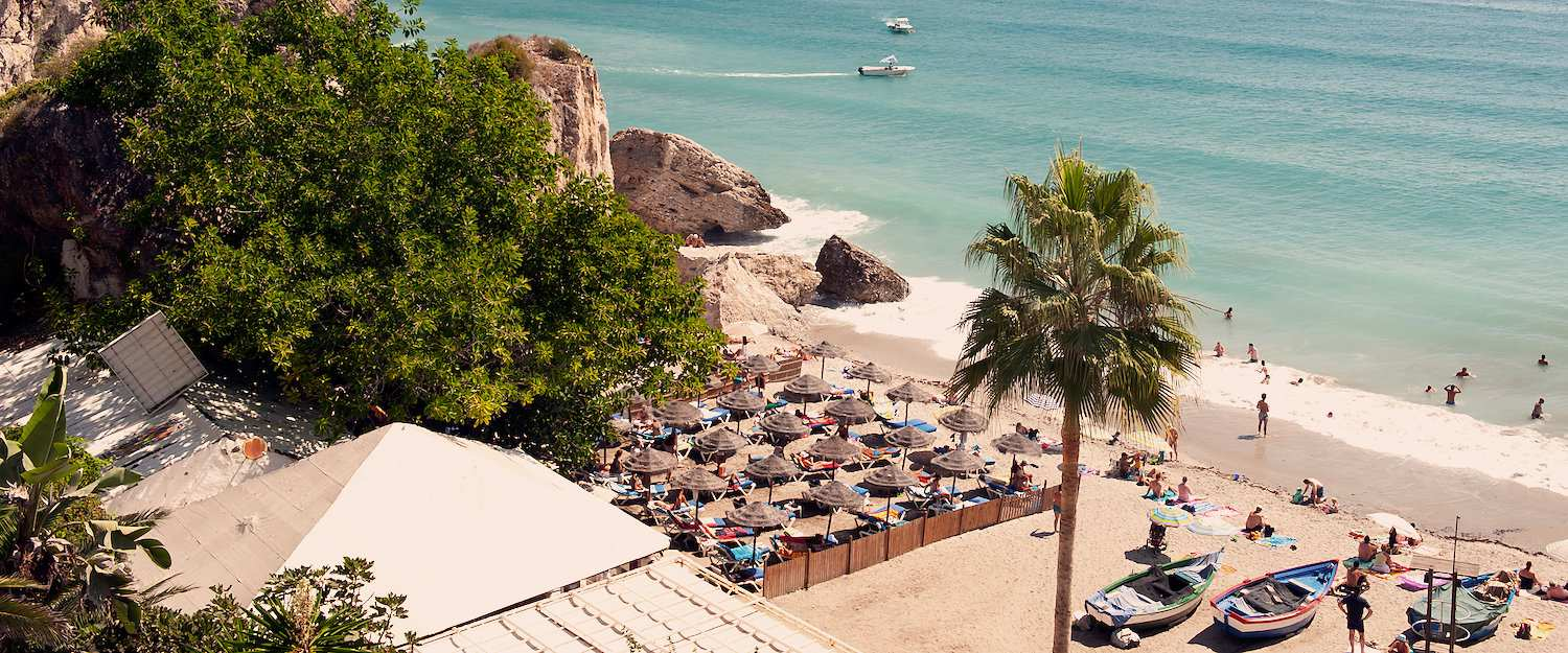Beach of Nerja