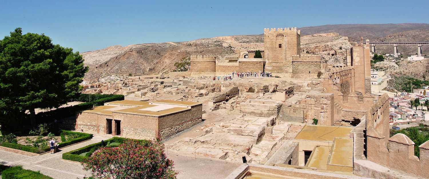 The Moorish fortress in Almeria