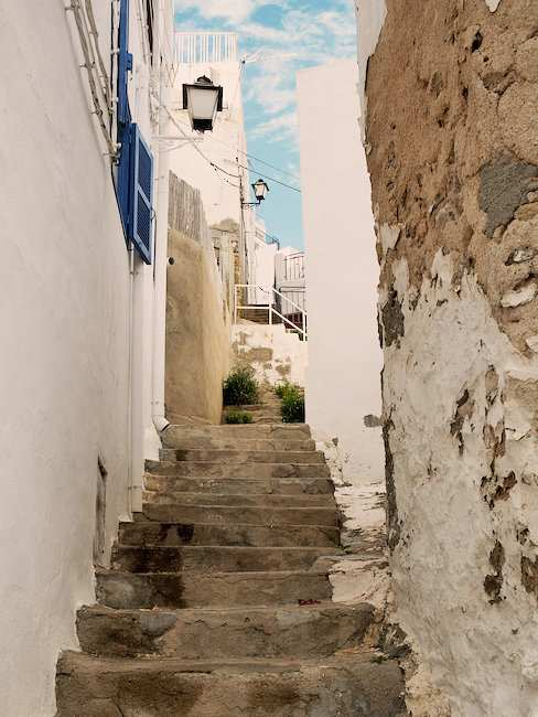Idyllic lane in Almeria