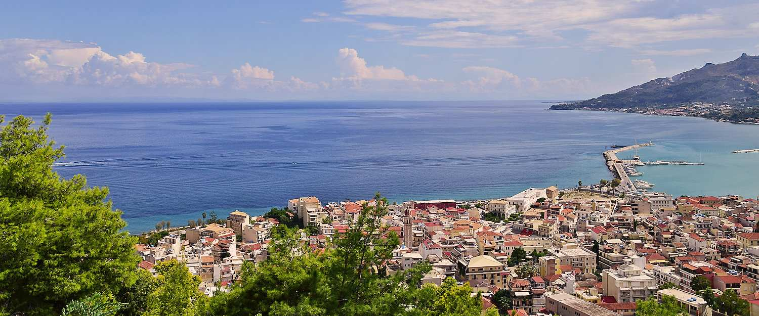 Wonderful view over Zakynthos