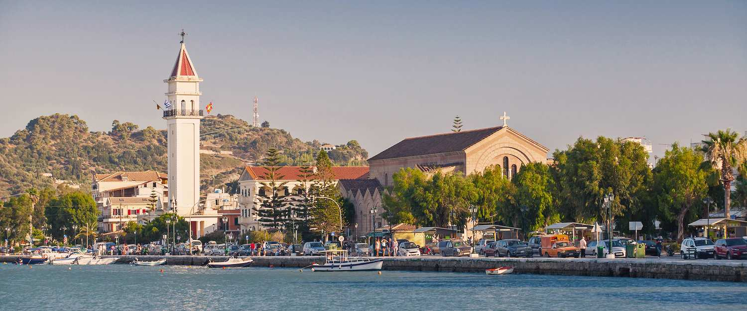Church Agios Dionysios in Zakynthos