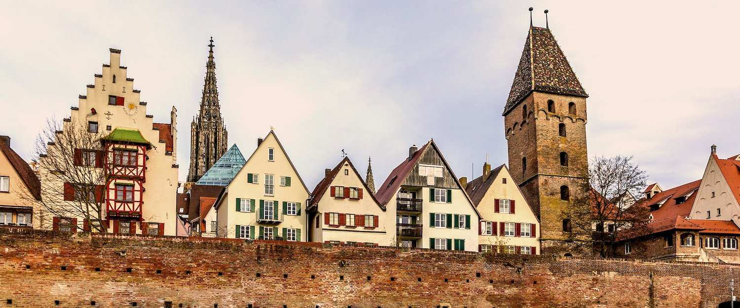 The City of Ulm in Baden-Württemberg