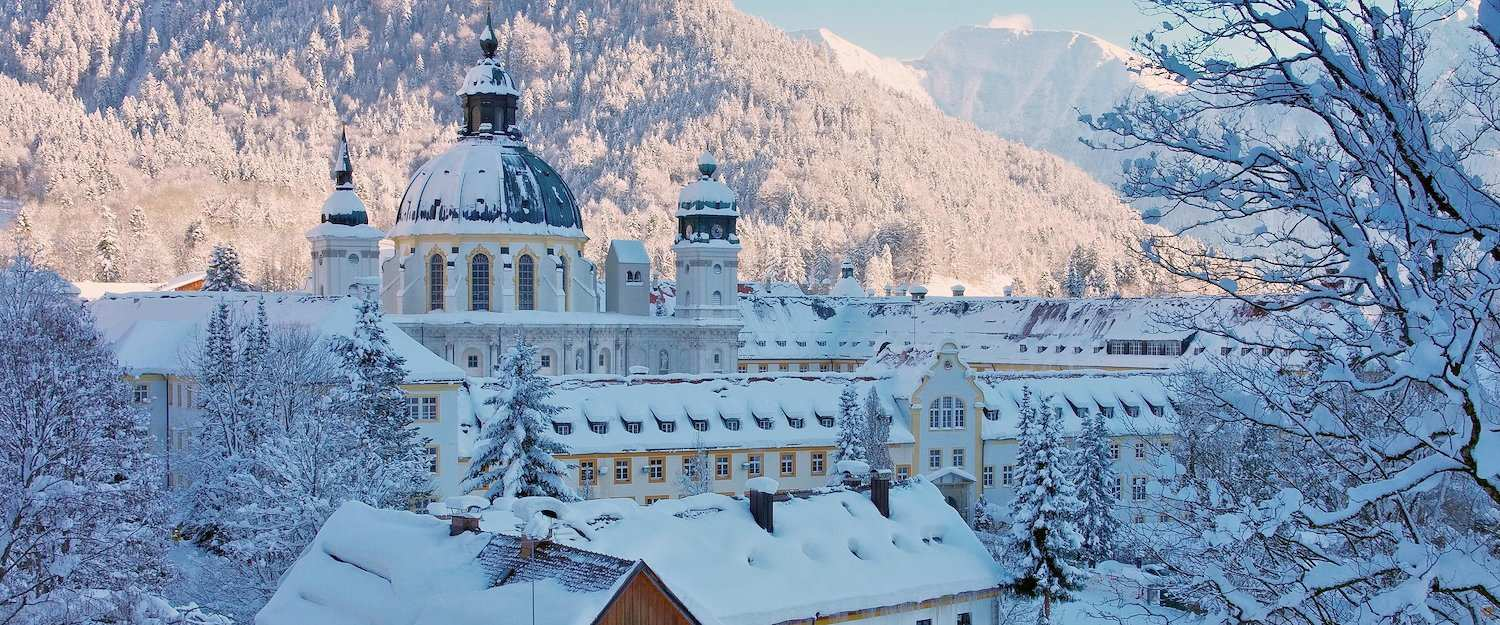 Kloster Ettal im Winter