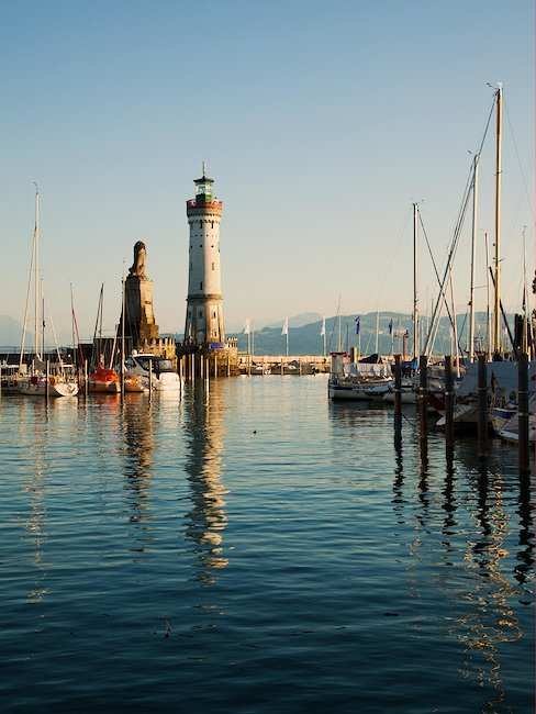 The port of Lindau.