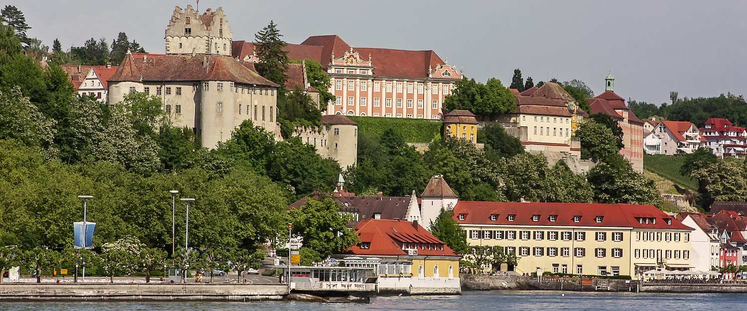 View of Meersburg on Lake Constance