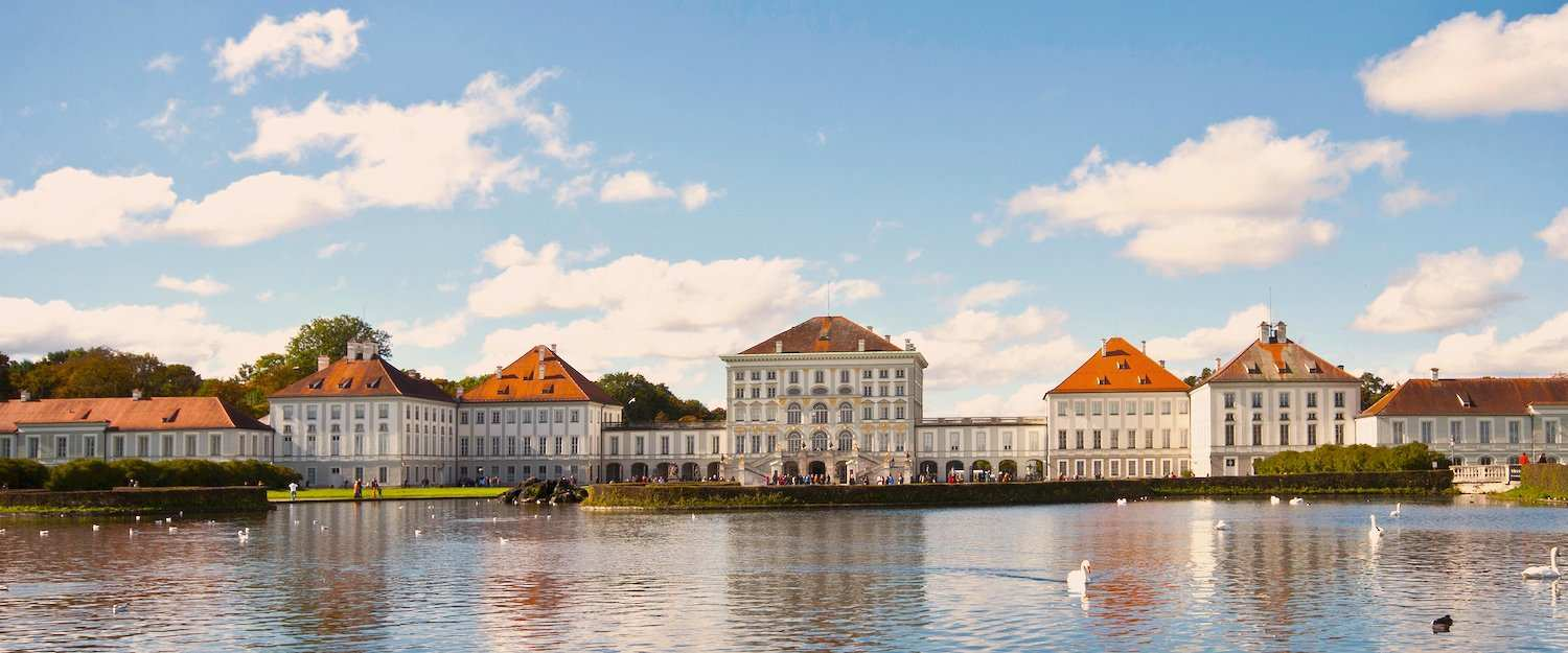 Visit Nymphenburg Castle in the west of Munich
