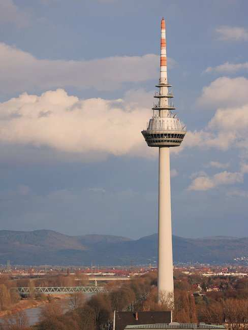 Telecommunications tower Mannheims