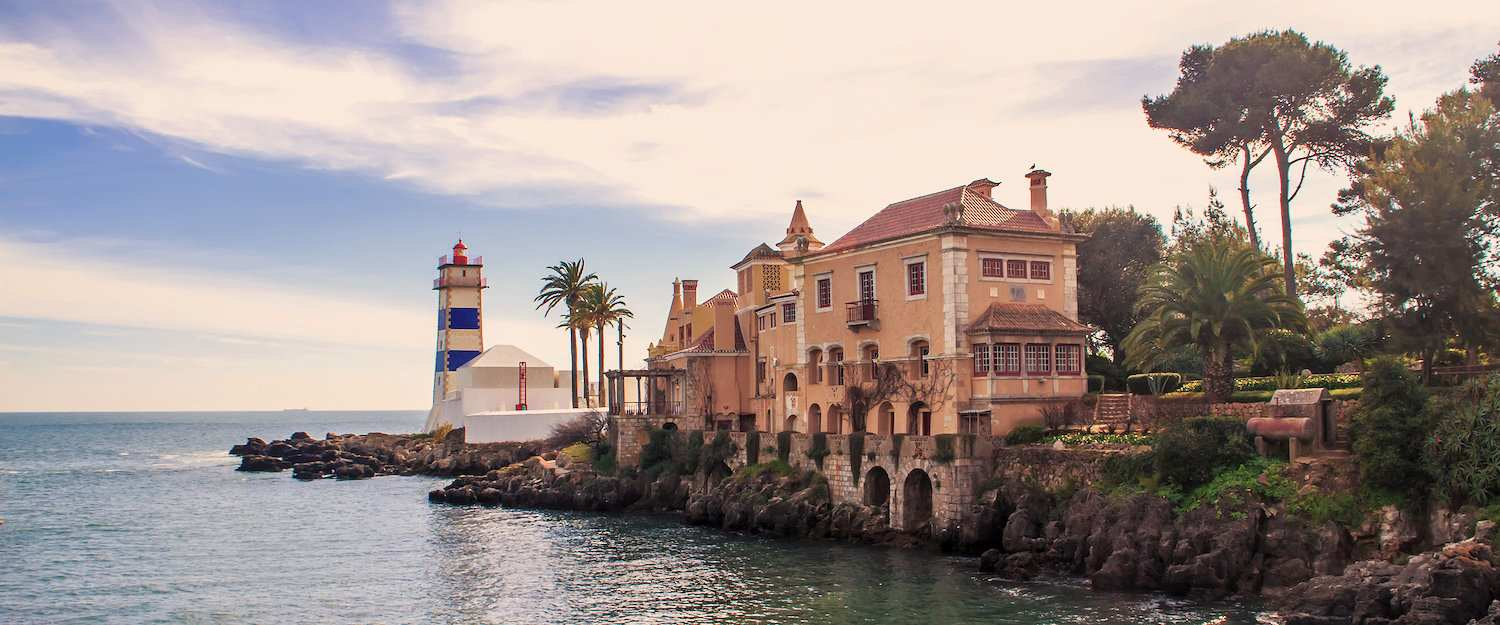 The Santa Marta lighthouse with museum in Cascais