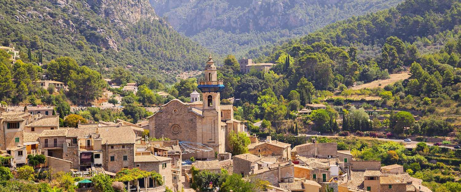 The west of Majorca is home to mysterious villages