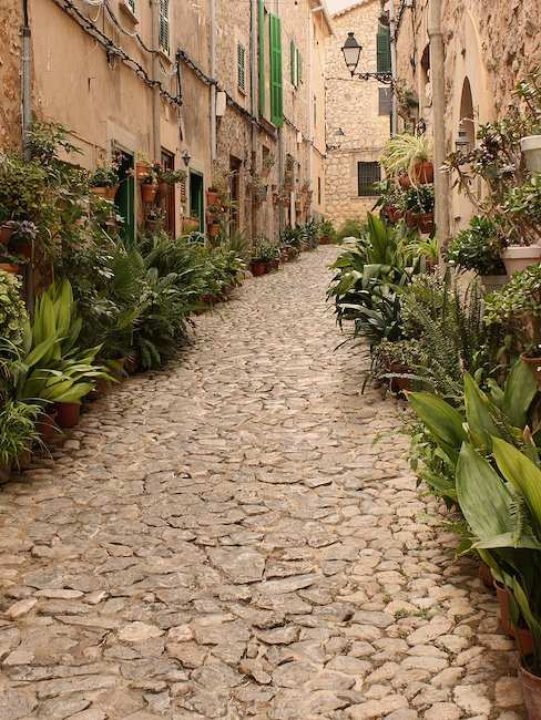 Lane in Valldemossa