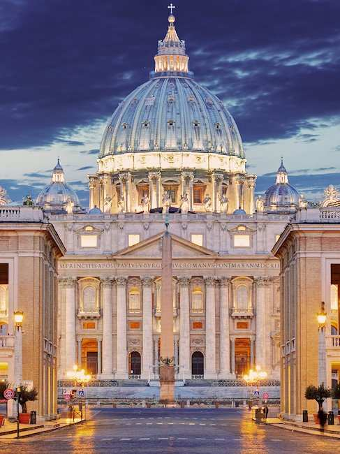 St. Peter's Basilica in the Vatican