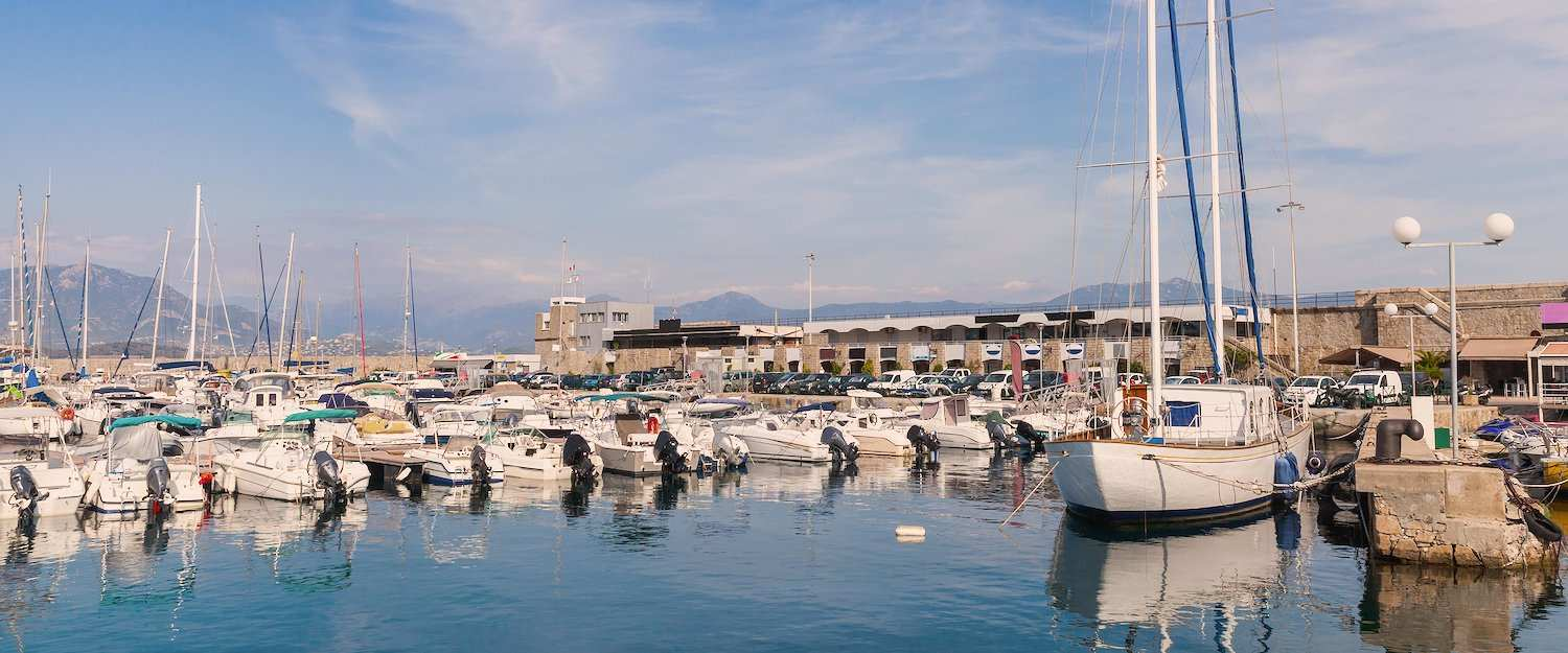 Visit the beautiful and traditional port of Ajaccio.