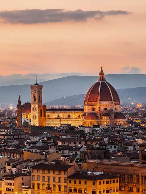 The Cathedral of Santa Maria del Fiore, the landmark of Florence