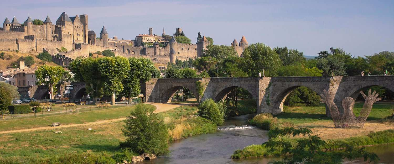 Panorama of Carcassonne