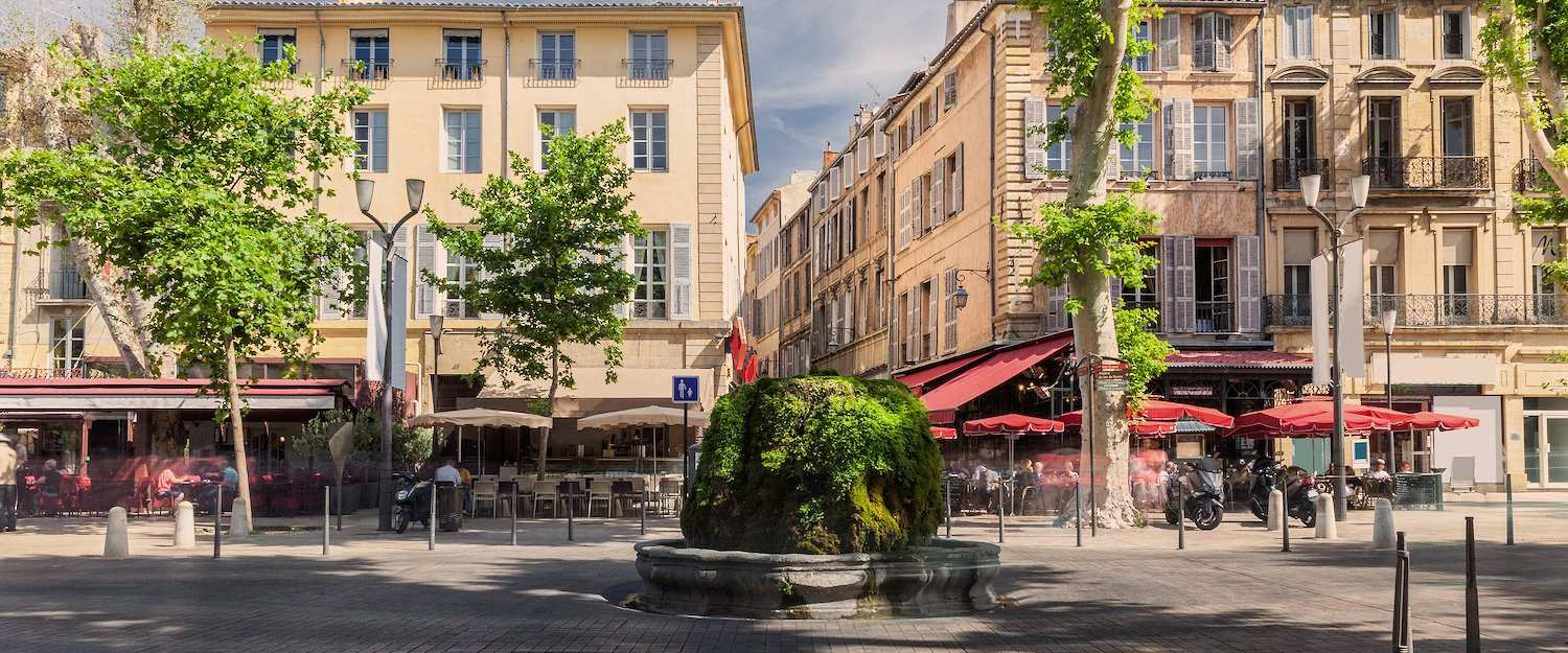 Old town in Aix-de-Provence