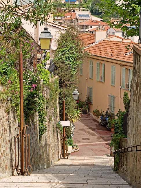Old town of Cannes