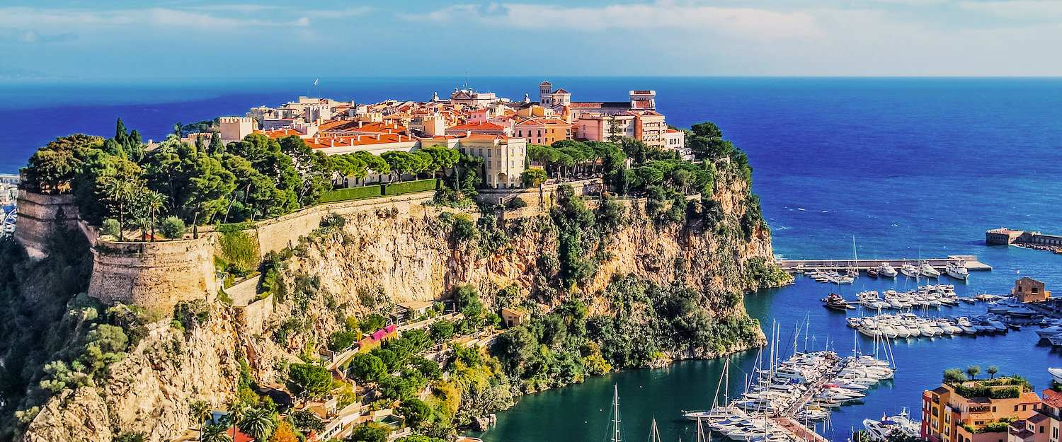 The rock of the Prince of Monaco