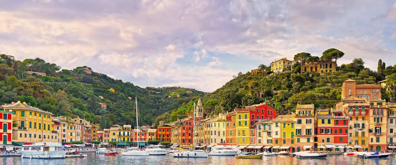 The picturesque city of Portofino