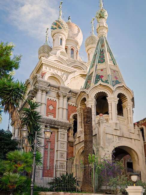 Russian Church in Sanremo on the Riviera di Ponente