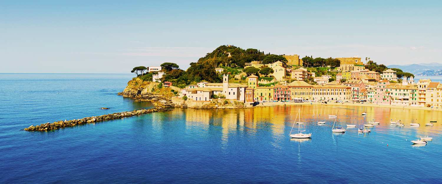 Sestri Levante in Ligurien