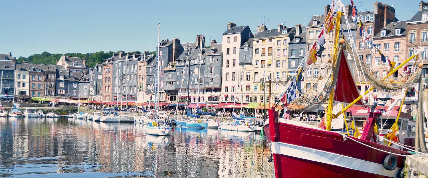 De haven van Honfleur.