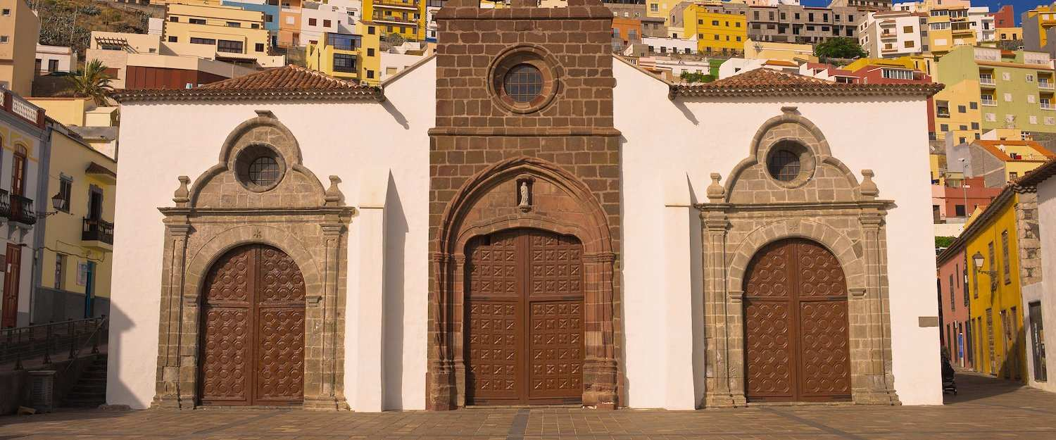 Church in San Sebastien on La Gomera