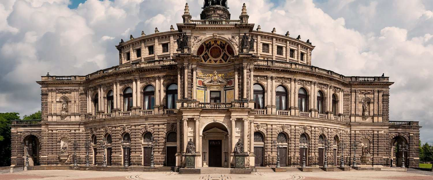 The Semper Opera in Dresden