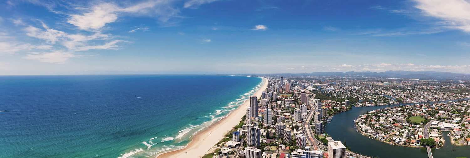 Visit the beautiful beaches Australia is famous for.