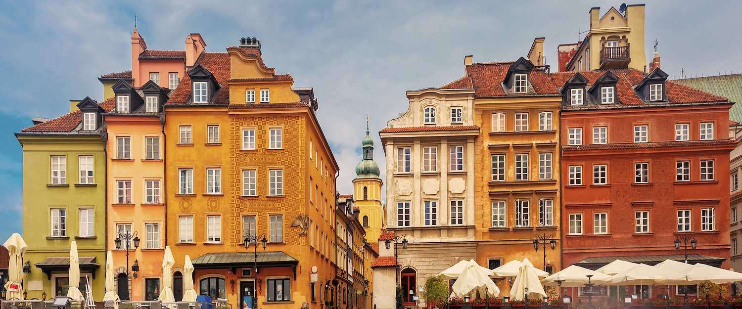 The city centre of Warsaw has been a UNESCO World Heritage Site since 1980.