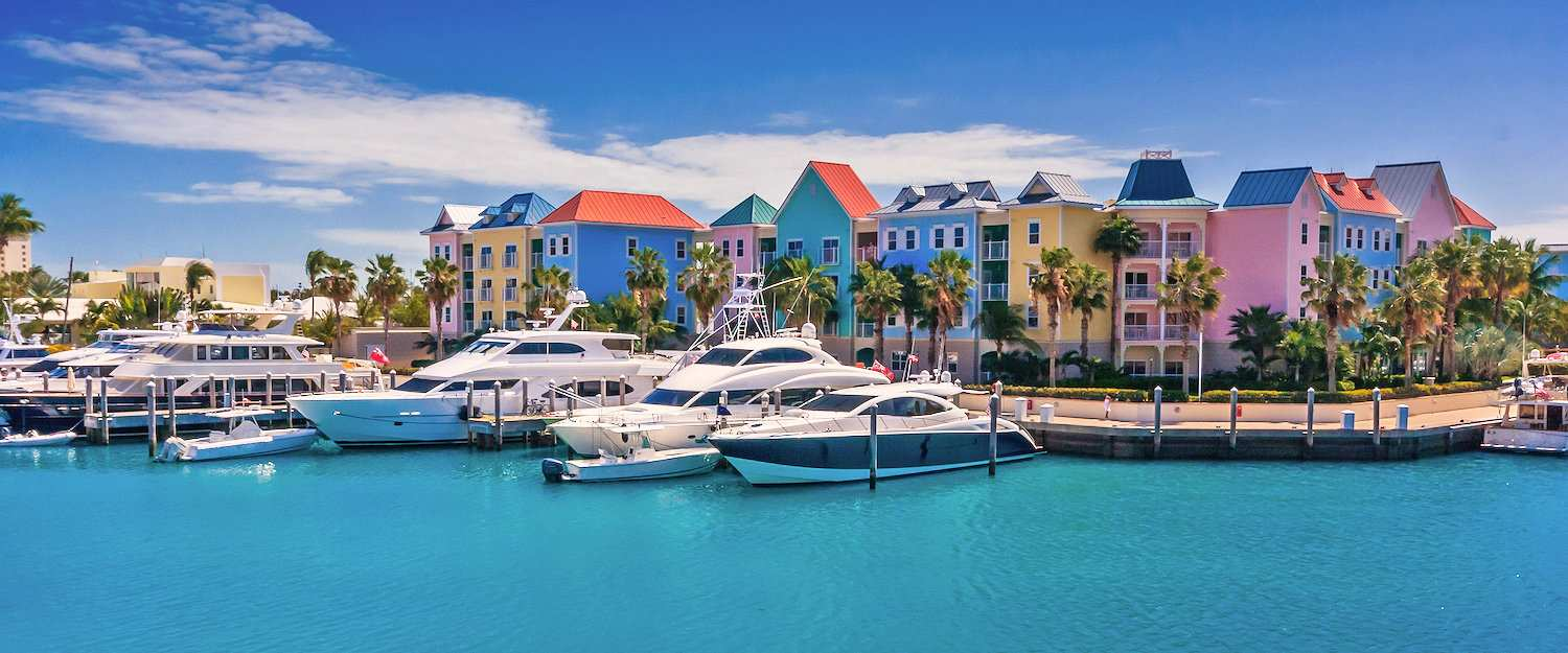 Port on the Bahamas