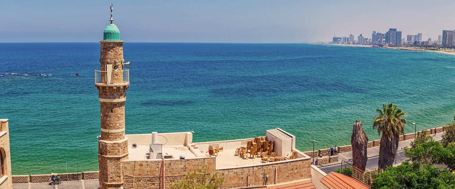 View of the sea from Tel Aviv