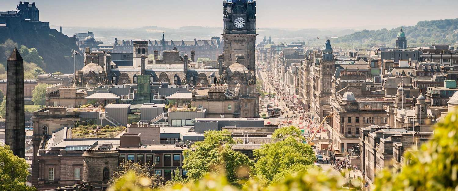 The Capital of Scotland: Edinburgh