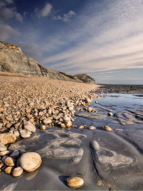 Breathtaking coastal landscape of the Jurassic Coast