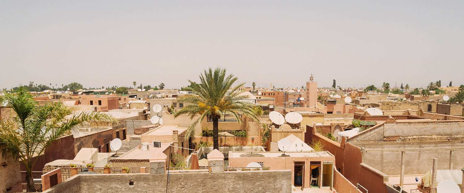 Rooftops of Marrakech