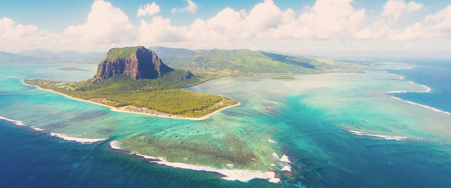 Lucht Mauritius