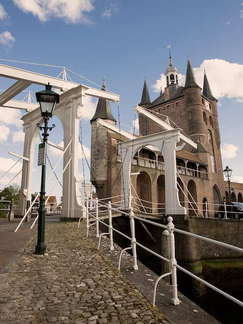 An old city gate in Zeeland