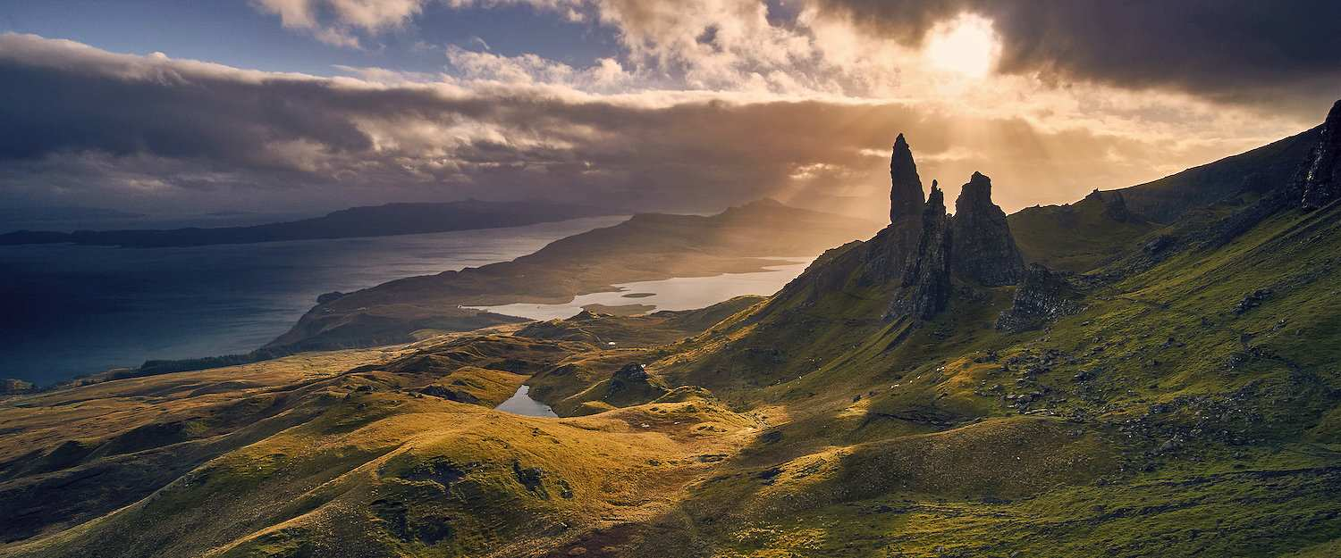 Dreamlike landscapes on the island Skye