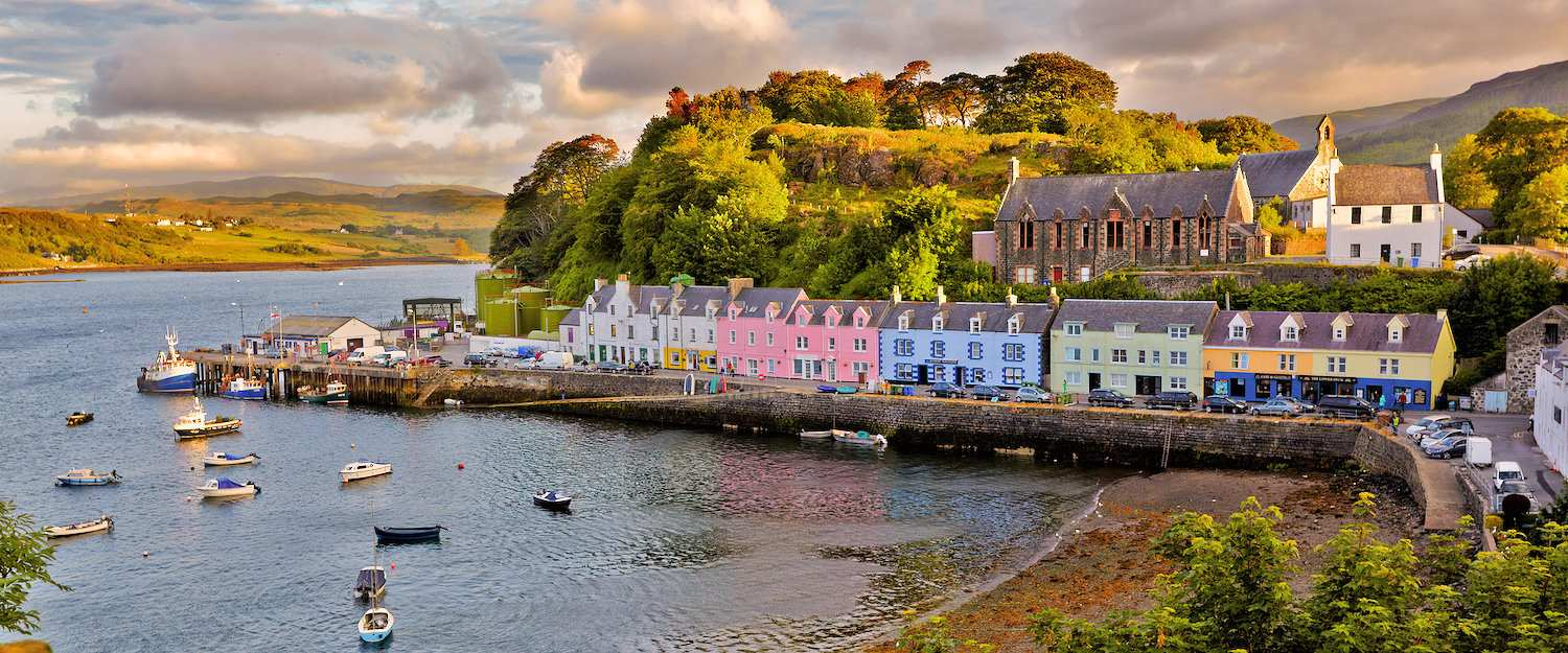 Port of Portree on Skye